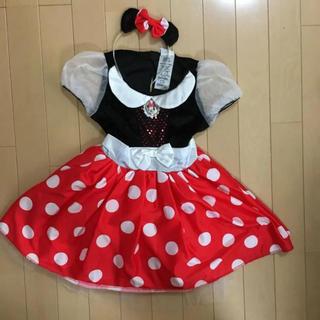 Disney - ミニーちゃんなりきりドレス120㎝