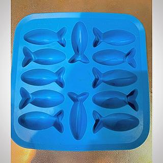 イケア(IKEA)のIKEA アイスキューブトレイ お魚 (調理道具/製菓道具)