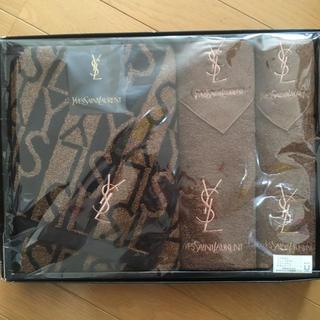 イヴサンローランボーテ(Yves Saint Laurent Beaute)のイブサンローラン タオルセット 5枚(タオル/バス用品)