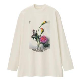 ジーユー(GU)のGU★オーバーサイズ グラフィックロングスリーブT(Tシャツ(長袖/七分))