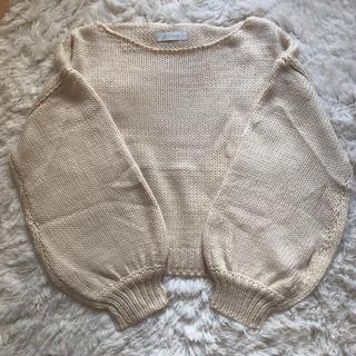セシルマクビー(CECIL McBEE)のセーター(ニット/セーター)