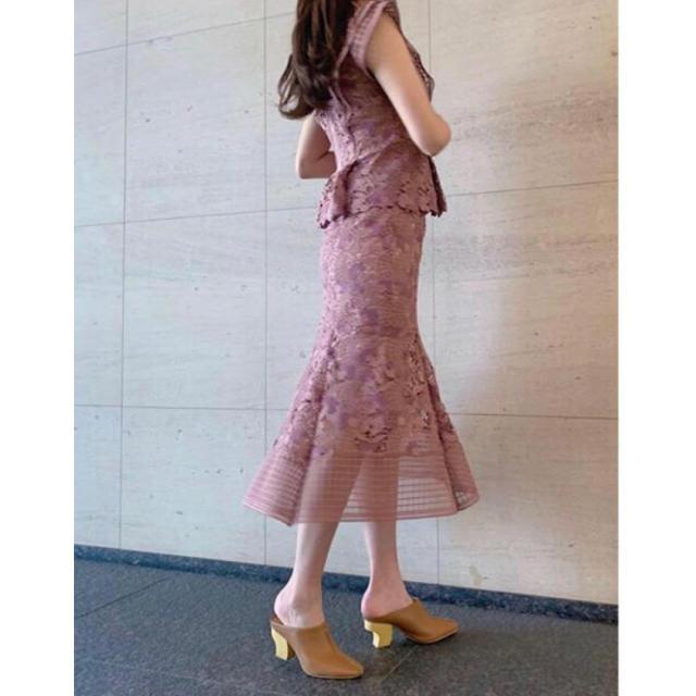 snidel(スナイデル)のオリジナルレースマーメイドスカート レディースのスカート(ロングスカート)の商品写真