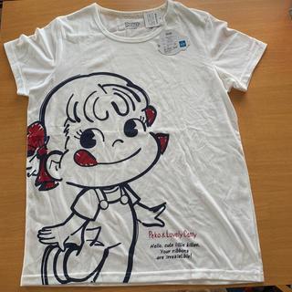 サンリオ(サンリオ)のペコちゃんtシャツ(Tシャツ(半袖/袖なし))