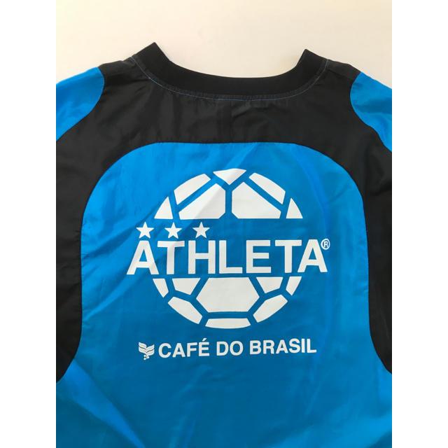 ATHLETA(アスレタ)のアスレタ ピステ上下 青黒 スポーツ/アウトドアのサッカー/フットサル(ウェア)の商品写真