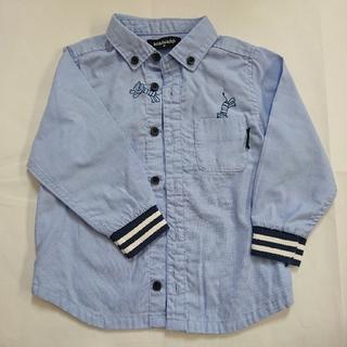 クレードスコープ(kladskap)のグレードスコープ( klad skap )長袖シャツ  90(ブラウス)