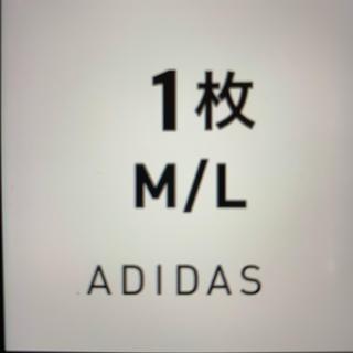 adidas BLACK M/L 1枚 アディダス ブラック