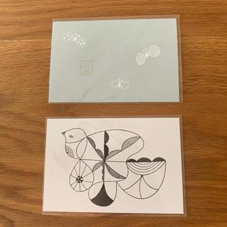 ミナペルホネン(mina perhonen)のつづく展 ポストカード(写真/ポストカード)