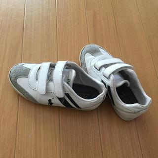 ポロラルフローレン(POLO RALPH LAUREN)のポロ ラルフローレン 靴 17.9〜 18cm(スニーカー)