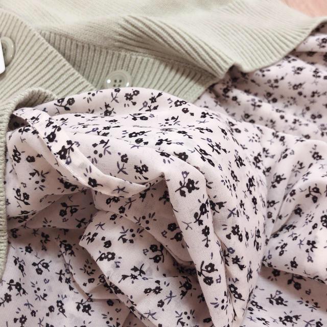 GU(ジーユー)の【ナチュラル】GU シャツワンピース【可愛い】 レディースのワンピース(ロングワンピース/マキシワンピース)の商品写真
