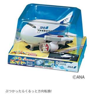 エーエヌエー(ゼンニッポンクウユ)(ANA(全日本空輸))の飛行機のおもちゃ くるピカエイト ANA 新品(電車のおもちゃ/車)
