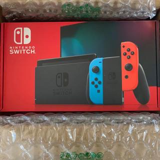 任天堂 - Nintendo Switch 任天堂スイッチ 本体 ネオンブルー ニンテンドウ