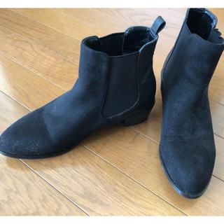 レプシィム(LEPSIM)のLEPSIM  黒 ショートブーツ 靴 ブーツ ブラック(ブーツ)