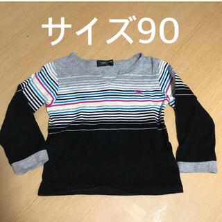 コムサイズム(COMME CA ISM)のサイズ90  長袖 (Tシャツ/カットソー)