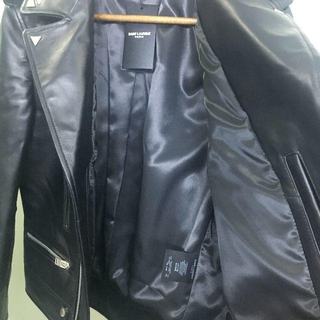 Saint Laurent(サンローラン)のサンローラン Saint laurent paris レザージャケット メンズのジャケット/アウター(レザージャケット)の商品写真