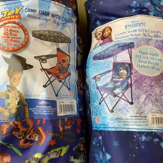 ディズニー(Disney)の二点 ディズニーチェア 折り畳み椅子 ディズニー(テーブル/チェア)