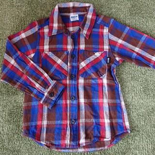 ブリーズ(BREEZE)の子供 BREEZE チェックシャツ 120cm(ジャケット/上着)