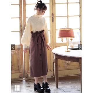 GRL - GRL*ベルト付コーデュロイボタンスカート