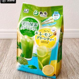 森半 宇治抹茶グリーンティー&レモン(茶)