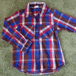 ブリーズ(BREEZE)の子供 BREEZE チェックシャツ 100cm(ジャケット/上着)