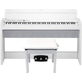 KORG - 【ピアノ椅子セット】KORG 電子ピアノ LP-380-WH 88鍵 ホワイト