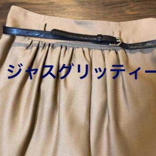 ジャスグリッティー(JUSGLITTY)のジャスグリッティー スカート  キャメル(ひざ丈スカート)