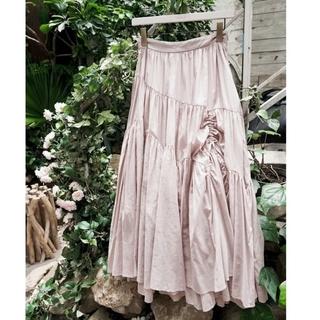 snidel - Herlipto Asymmetric Tiered Cotton Skirt