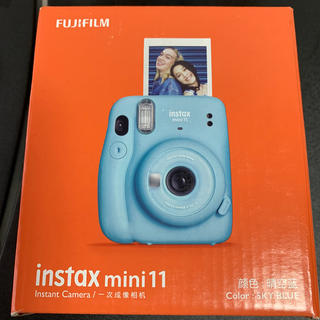 富士フイルム - チェキ mini11   スカイブルー
