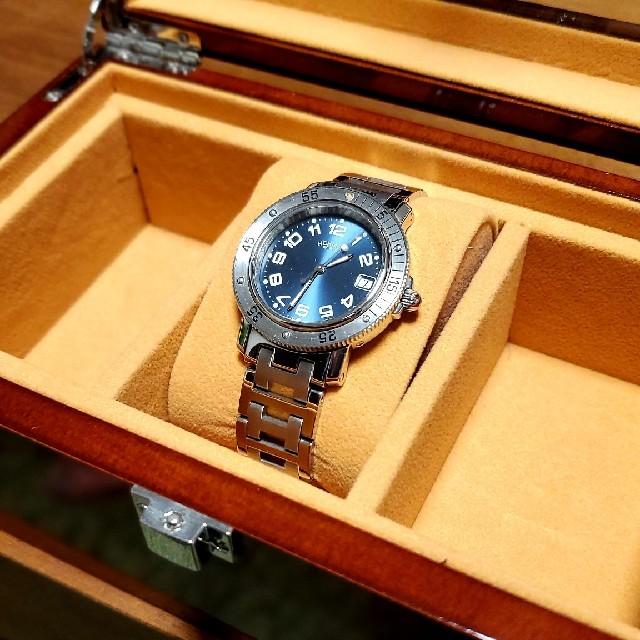 Hermes(エルメス)の外装研磨済 HERMES  エルメス  クリッパー メンズの時計(腕時計(アナログ))の商品写真