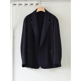コモリ(COMOLI)のCOMOLI ウールピンシルク ジャケット 20aw サイズ2 新品(テーラードジャケット)