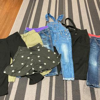 グローバルワーク(GLOBAL WORK)の子供服 まとめ売り 100cm(パンツ/スパッツ)