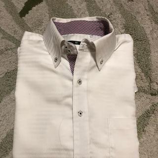 スーツカンパニー(THE SUIT COMPANY)のスーツセレクトワイシャツ ホワイトストライプM(シャツ)