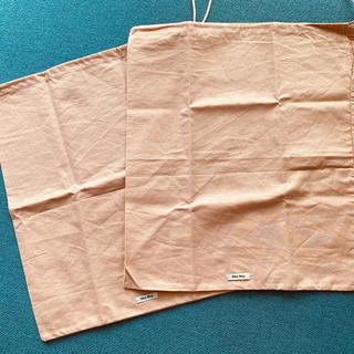 ミュウミュウ(miumiu)のmiumiu 保存袋⭐️2枚セット💚(ショップ袋)
