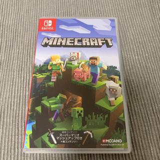 マイクロソフト(Microsoft)の【中古】Minecraft Switch(家庭用ゲームソフト)
