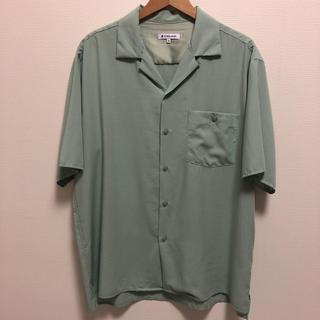 グローバルワーク(GLOBAL WORK)の快適オープンカラーシャツ(シャツ)