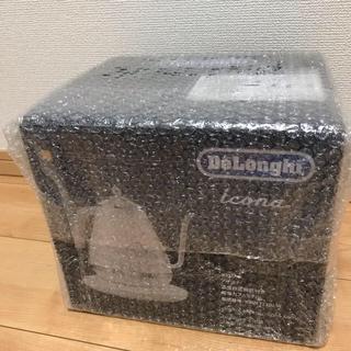 デロンギ(DeLonghi)のアイコナ KBOE1230J-W [ピースフルホワイト](電気ケトル)