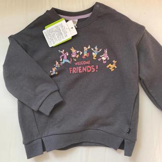 フタフタ(futafuta)の新品 完売 ミッキー レトロ トレーナー futafuta 95(Tシャツ/カットソー)