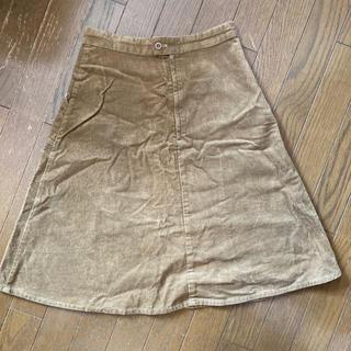 ロデオクラウンズワイドボウル(RODEO CROWNS WIDE BOWL)のロデオクラウンズ コーデュロイスカート(ひざ丈スカート)