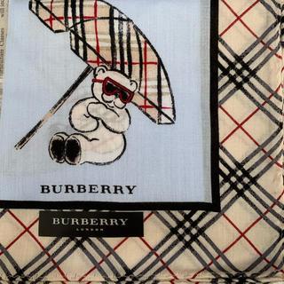 BURBERRY - バーバリー ハンカチ クマ稀少