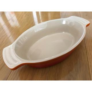 ルクルーゼ(LE CREUSET)のLE CREUSET ルクルーゼ グラタン皿 オレンジ(食器)