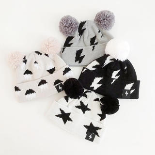 コドモビームス(こども ビームス)のポンポンニット帽【kapowkids 】(帽子)