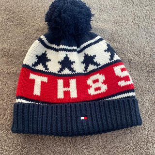 トミーヒルフィガー(TOMMY HILFIGER)のトミーヒルフィガー(キッズ)ニットキャップ(帽子)