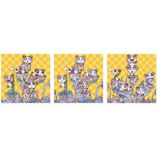 メディコムトイ(MEDICOM TOY)の【lcfa様専用】3種セット 新品未開封 村上隆 パンダ ポスター ED300(その他)