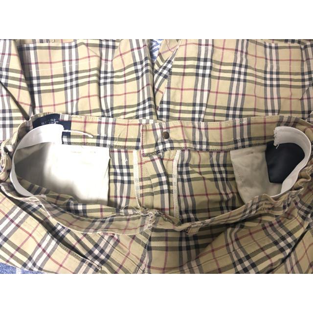 BURBERRY(バーバリー)の【リメイク】 BURBERRY バーバリー ショーツ ハーフパンツ M チェック メンズのパンツ(ショートパンツ)の商品写真