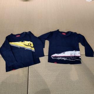 オジコ 長袖Tシャツ 2点セット ドクターイエロー マックス 2A