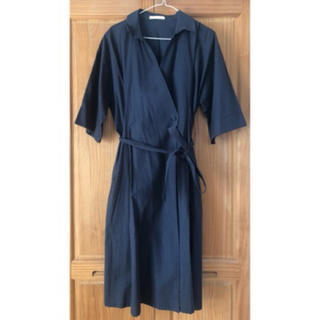 ショコラフィネローブ(chocol raffine robe)の美品*ワンピコート(ロングワンピース/マキシワンピース)