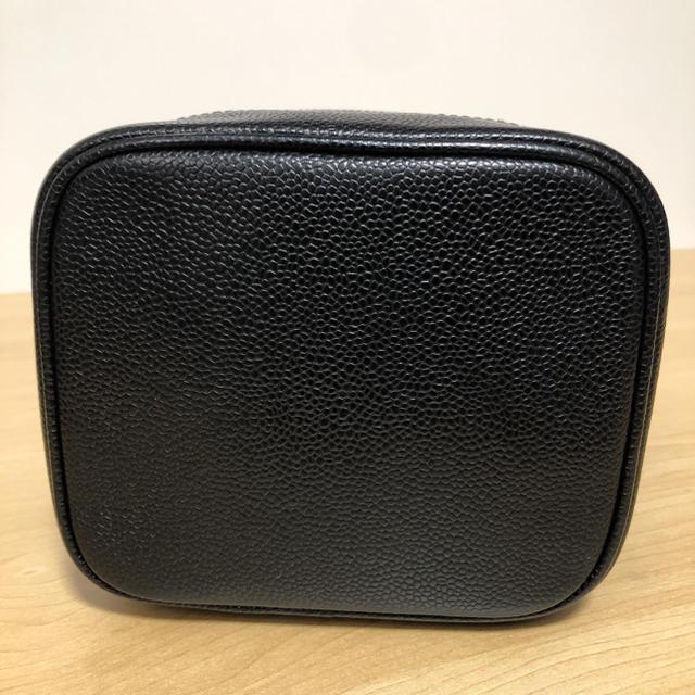 CHANEL(シャネル)のCHANEL シャネル バニティバッグ キャビアスキン 化粧ポーチ ハンドバッグ レディースのバッグ(ハンドバッグ)の商品写真