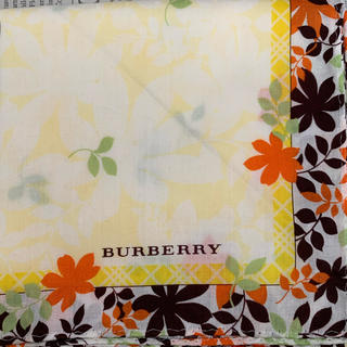 BURBERRY - バーバリー ハンカチ①
