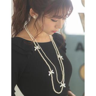 トッコ(tocco)のtocco  closet♡美品前後2WAYフリルデザインリブカーディガン(カーディガン)
