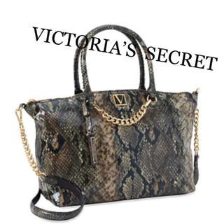 ヴィクトリアズシークレット(Victoria's Secret)のヴィクトリアシークレット新品トートバッグPython(トートバッグ)