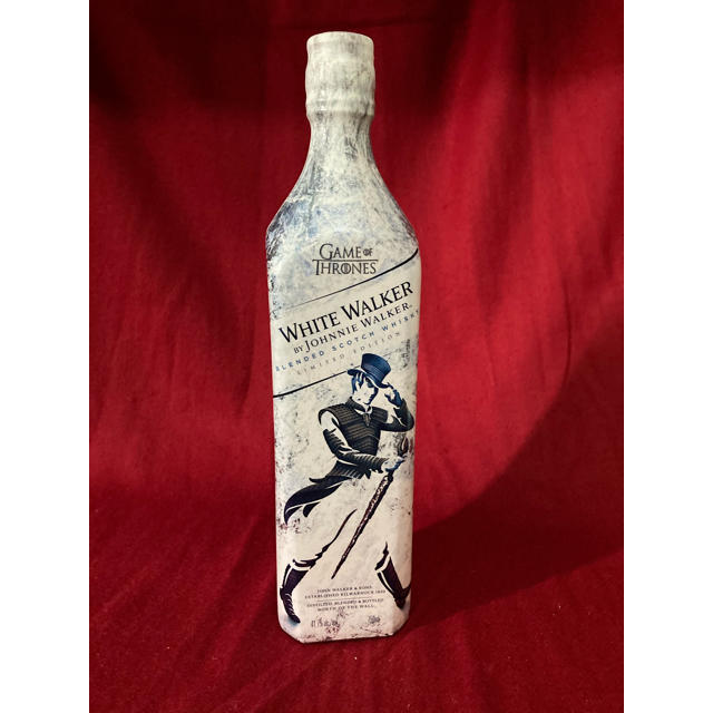 キリン(キリン)の限定ボトル ホワイトウォーカー ゲームオブスローンズ  ジョニーウォーカー 食品/飲料/酒の酒(ウイスキー)の商品写真